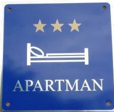 Official apartment Plate